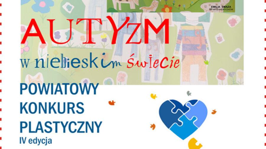 """Mamy laureatów w konkursie """"AUTYZM – W NIEBIESKIM ŚWIECIE""""!"""
