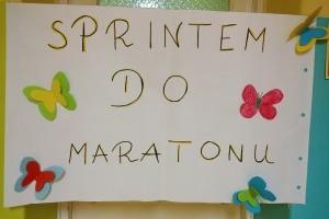 Sprintem do Maratonu!