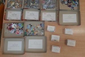 Grupowy konkurs układania puzzli