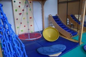 Sala do terapii Integracji Sensorycznej i zajęć rehabilitacyjnych